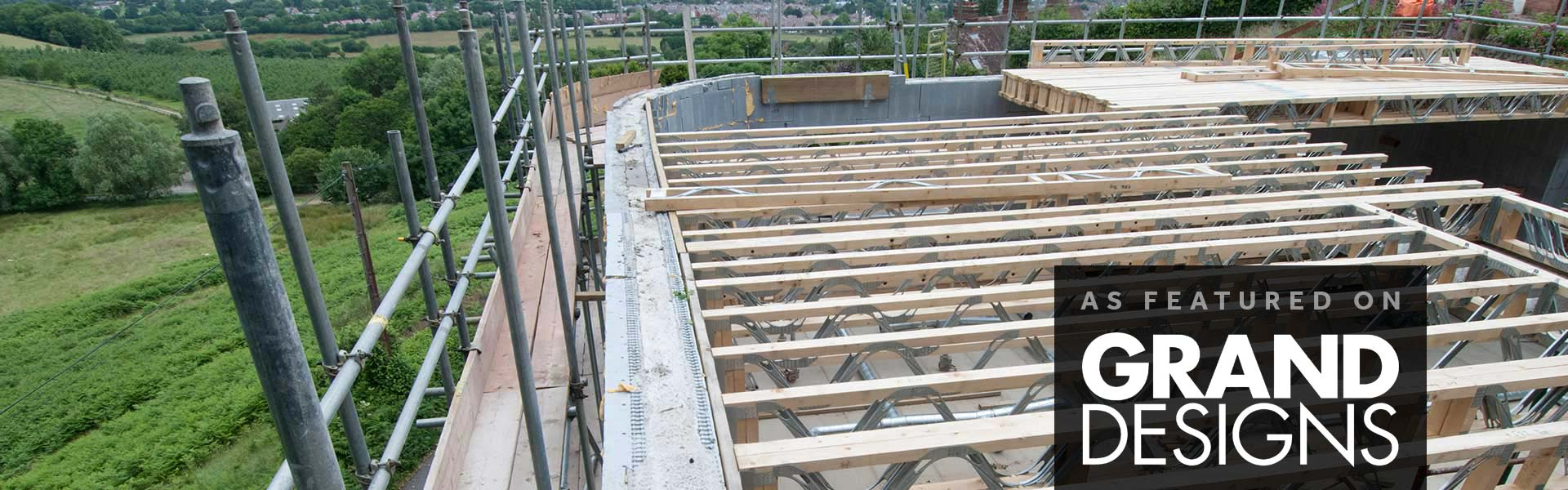 Roof Trusses for Malvern Hills