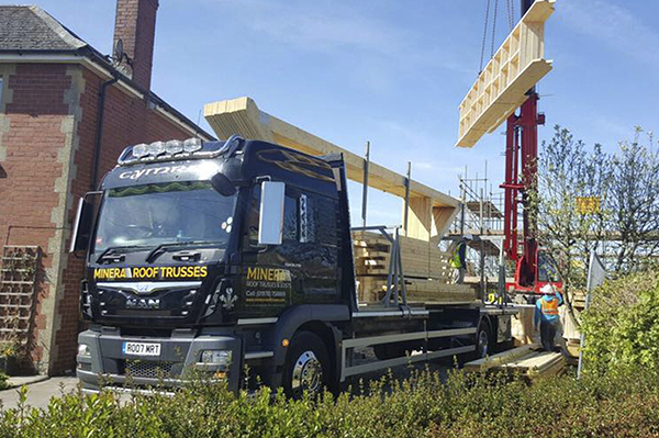 Roof Trusses Fast Delivery