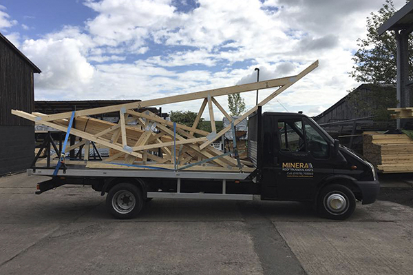 Previous roof truss projects minera roof trusses for Order trusses online
