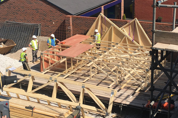 Roof Trusses Quote UK