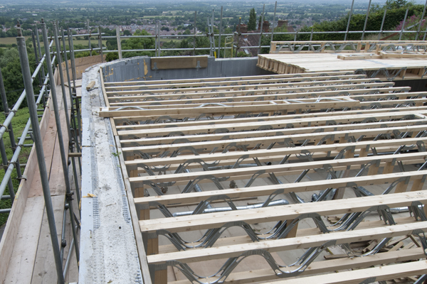 Metal web floor joists minera roof trusses Floor joist trusses