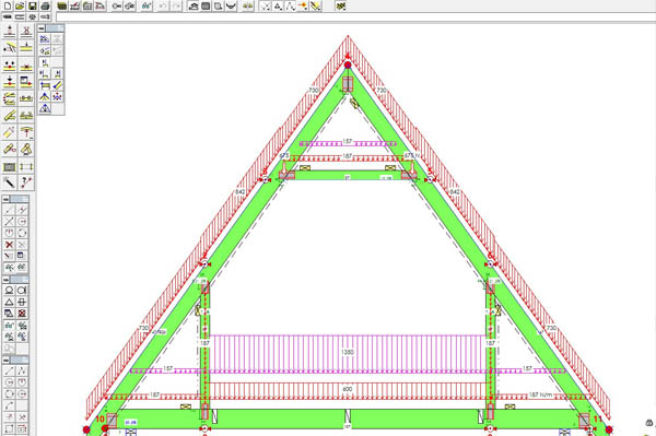 The Floor Loading Requirement for Attic Trusses