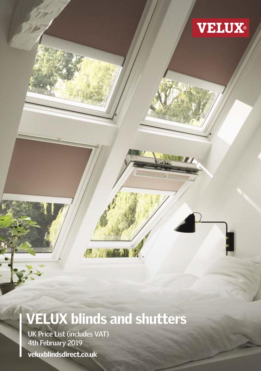 VELUX Blinds & Shutters February 2017