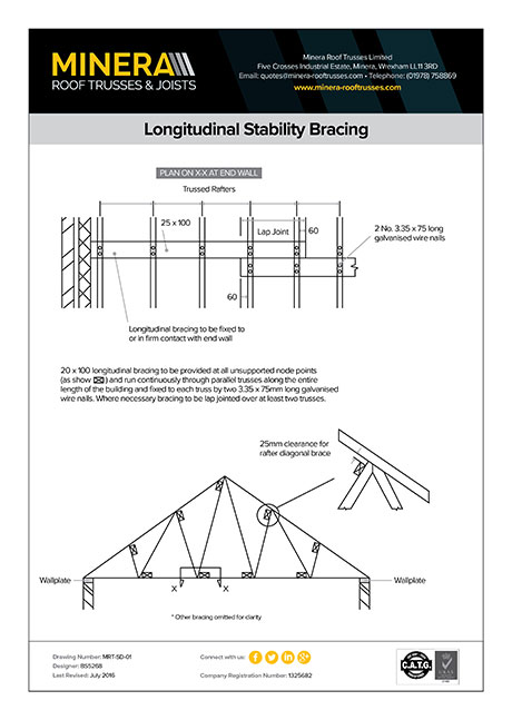 Longitudinal Stability Bracing