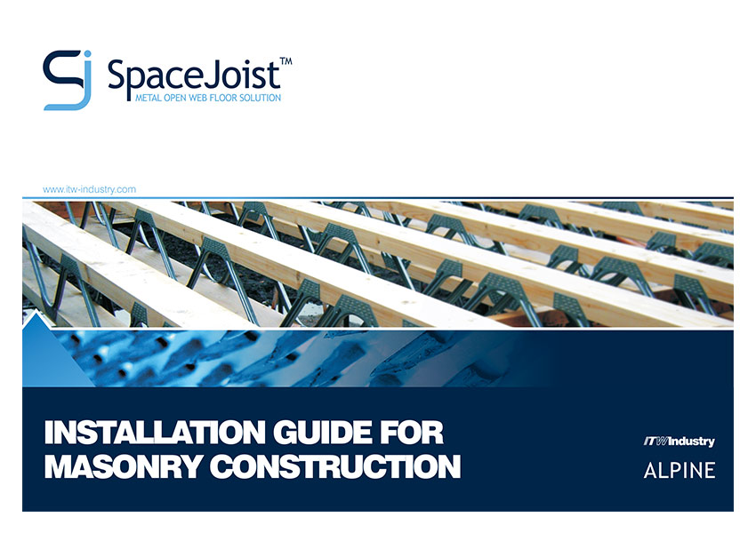 Space Joist Installation