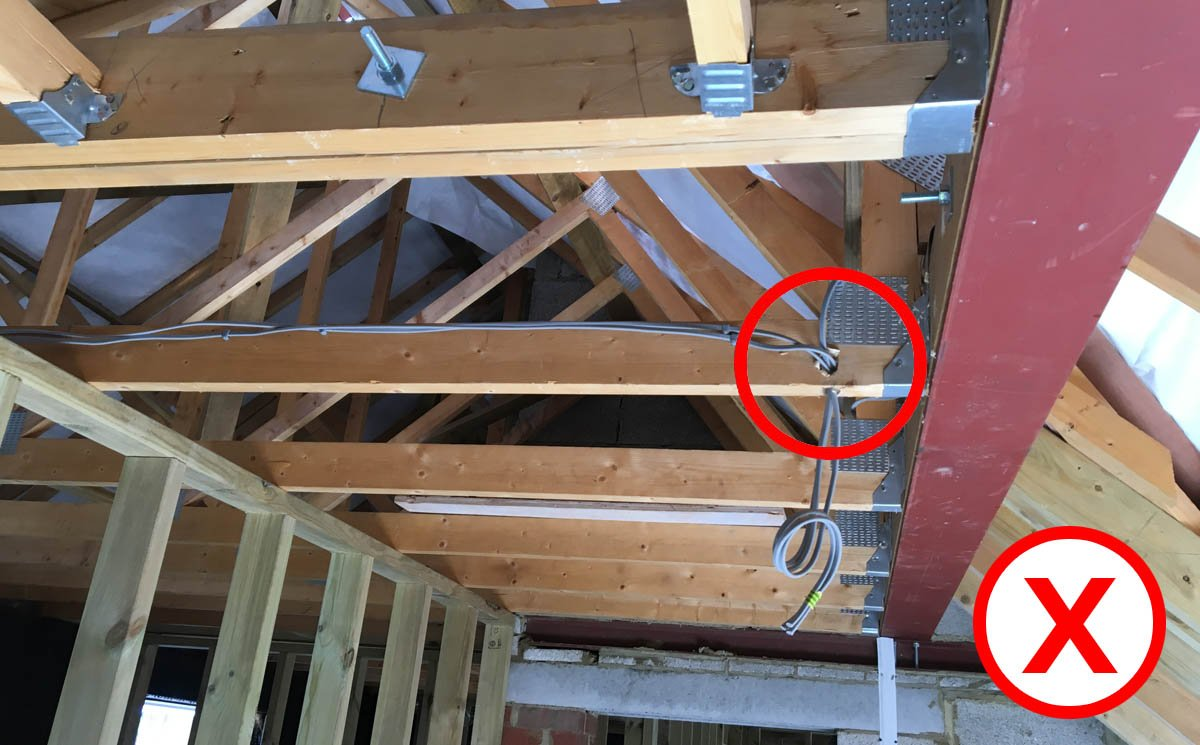 Why You Shouldn't Cut, Drill or Notch your Trusses!